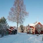 Välkommen till ett vintervitt Grangärde